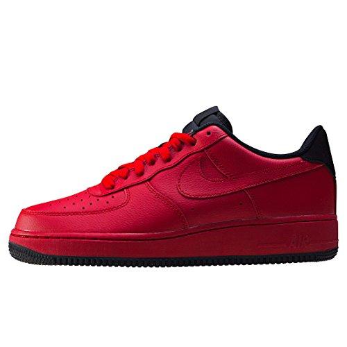 Rot Sneaker 1 613 Force Skaterschuhe Herren Rot Schuhe NIKE Echtleder 315122 `07 Air zO06gq
