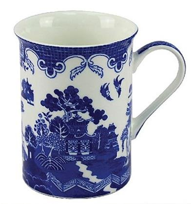 Leonardo Collection Tasse en Osier, Porcelaine, Bleu