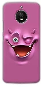 NAV Printed Hard Plastic Back Cover Protect Phone For Motorola Moto E4 Plus / Moto E4 Plus