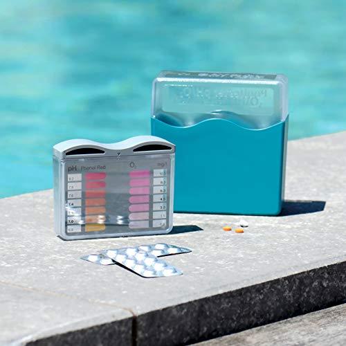 BAYROL Pooltester - pH Wert und Sauerstoff - jeweils 2 x 20 Tabletten  Phenol Red & DPD No. 4