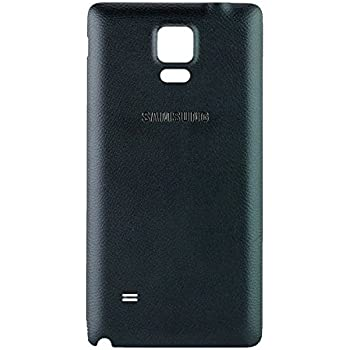 Original Samsung Battery Cover Black for Samsung N910F Galaxy Note 4 Back Cover GH98-34209B