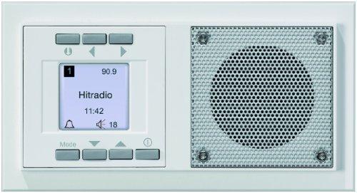 Peha Unterputz-Radio im Aura-Design, weiß, D 20.485.02 -