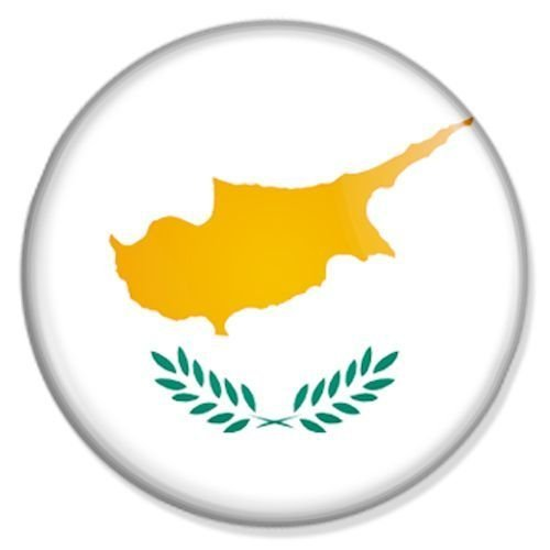 Preisvergleich Produktbild Flagge Zypern Kühlschrankmagnet Magnet Magneten Pinnwand Magnet Pinnwand