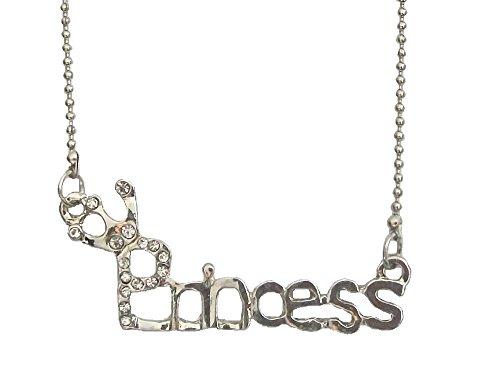 one Halskette Anhänger Kugel Kette Kristall mit Fancy Dress Party Kostüm Geschenk Schmuck für Frauen Mädchen (Großbritannien Fancy Dress Kostüme)