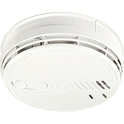 Aico Ei141RC Easi-fit Ionisation Smoke Alarm 230V + 9V Alkaline Battery Back-up from aico