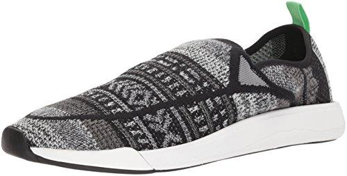 Sanuk Men's Chiba Quest Knit Sneaker, Grey