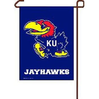 NCAA Kansas Jayhawks Garden Flag, 11