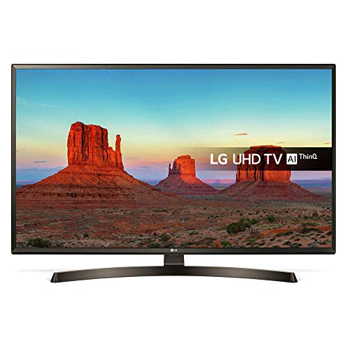 LG 55 INCH 55UK6400PLF SMART ULTRA HD TV WITH HDR (Certified Refurbished)
