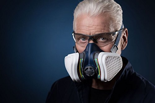 GVS Filter Technology Elipse SPR491 Atemschutz-Halbmaske, ABEK1P3, Mittel/Groß, Blau -