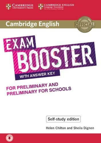 Cambridge English Exam Boosters with Answers Key for Preliminary and Preliminary for Schools - Self-study Edition