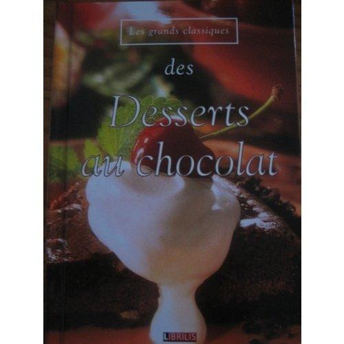 Les grands classiques des desserts au chocolat