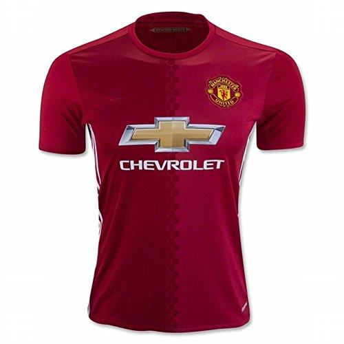 2016-2017-nuova-stagione-coming-manchester-united-fc-rosso-fai-da-te-calcio-jersey-uomo-red-m