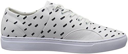 Lacoste L!VE - Sneaker - Homme blanc (WHT/NVY)