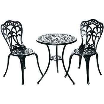 Amazon.de: Hochwertiges Bistro Tisch Set, 152400/C1 550