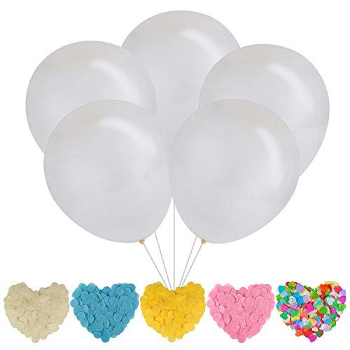Clear Balloon, Funpa BalóN De LáTex Globo Redondo Transparente Globo Gigante Del Globo Del Partido Para La DecoracióN