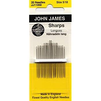 Colonial Needle Sharps Hand Needles-Size 8 20//Pkg