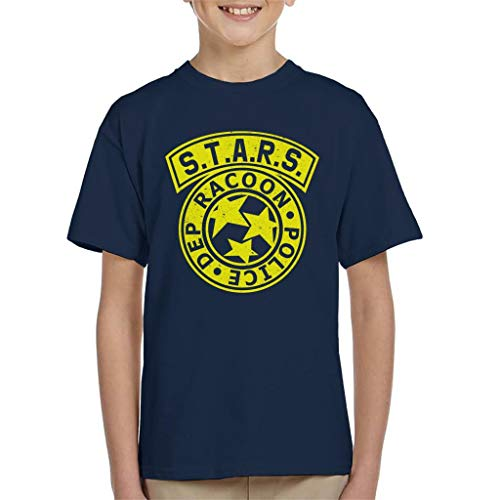 Cloud City 7 Resident Evil Stars Police Logo Kid's T-Shirt