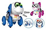 SilverLit Ruffy & Mooko 88571, NC Interactive Puppies 13 cm