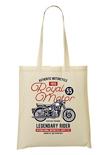 Royal Motor Legendary Ride Royal Motor Tragetasche Einkaufstasche (Royal Motor)