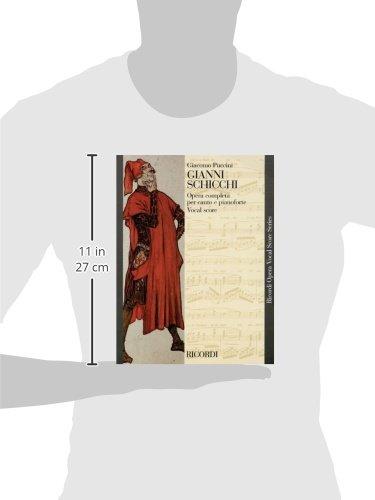 Gianni Schicchi: Opera Vocal Score (Ricordi Opera Vocal Score)