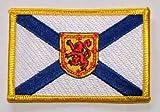 UB Aufnäher Nova Scotia Aufbügler Patch 8 cm x 5 cm Neuware!!!