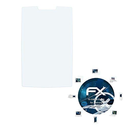Samsung SGH-D880 Folie - 3 x atFoliX FX-Shock-Clear stoßabsorbierende ultraklare Panzerfolie Displayschutzfolie