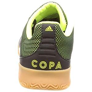 Adidas Copa 19.3 in Sala, Botas de fútbol para Hombre, Multicolor (Negbás/Amasol/Gumm1 000), 45 1/3 EU