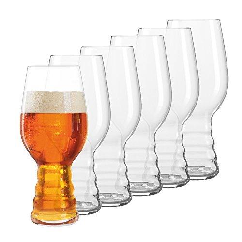 Spiegelau Beer Classics IPA Glass, Set of 6 by Spiegelau