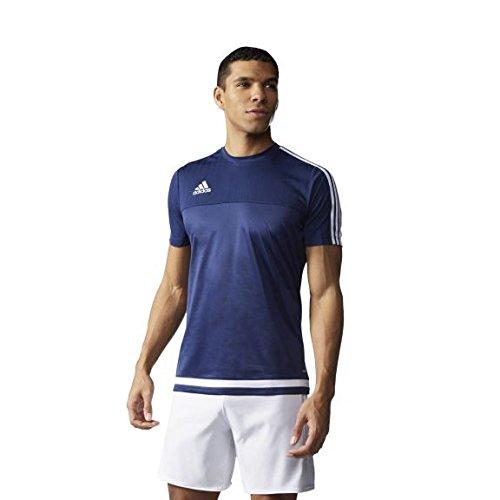 adidas Tiro 15 Trainingstrikot Tiro15 Training Jersey - dark blue/white/dark blue, Größe adidas:L - Adidas Tiro Training Jersey