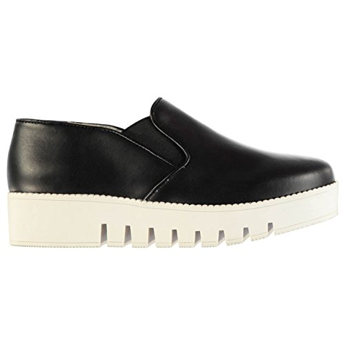 Jeffrey Campbell f1536Slip On scarpe calzature da donna nero, nero