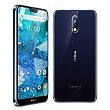 """Nokia 7.1 14.8 cm (5.84"""") 4 GB 64 GB 4G Blue 3060 mAh - Smartphone (14.8 cm (5.84""""), 2280 x 1080 Pixels, 4 GB, 64 GB, 12 MP, Blue)"""