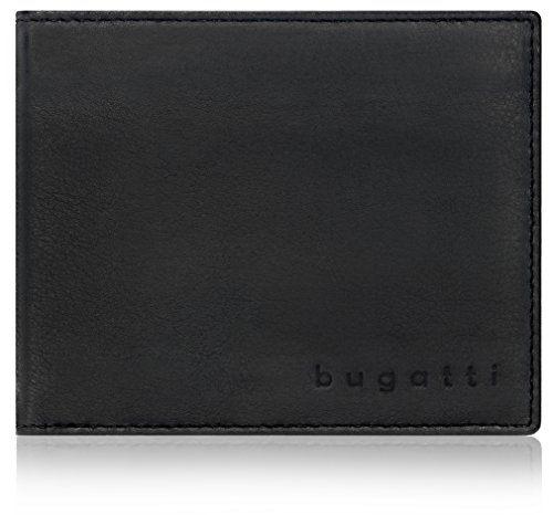 Bugatti Lima Geldbörse Leder 12 cm mit Klappfach