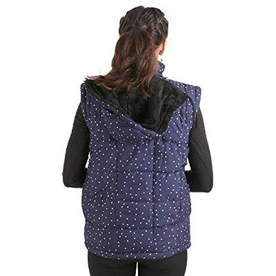 DELHITRADERSS® Womens Girls Winter Half Jacket Outwear Black Slim Warm Jacket(Code-Half-Blue)(Size-Free)