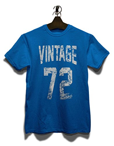 Vintage 1972 T-Shirt Royal Blau