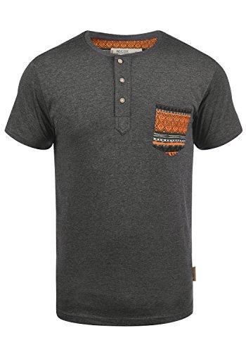 INDICODE Art T-Shirt, Größe:M;Farbe:Grey Mix (914) -