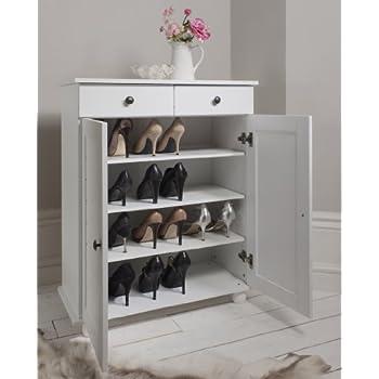 Shoe Storage Cabinet Deluxe with Storage Drawer Heathfield in ...