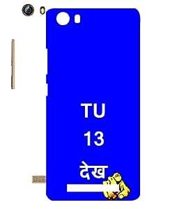 EPICCASE Tu 13 dekh Mobile Back Case Cover For Gionee Marathon M5 lite (Designer Case)