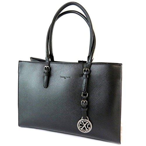Bag designer 'Christian Lacroix'nero - 40x28x16 cm.
