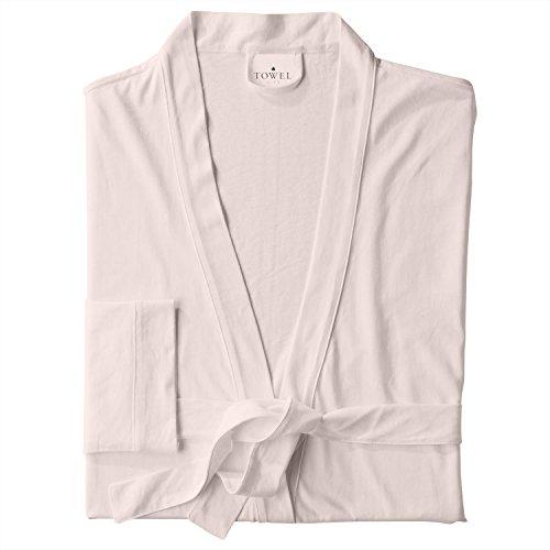 Towel City Womens Wrap Robe Rosa