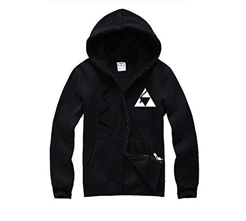 Triforce Logo Link Hoodie Tee Kapuzenpullover Sweater Jacke XXXL ()