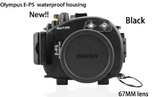 CameraPlus - Unterwasser digitalkamera - Unterwassergehäuse für Spiegelreflexkamera Olympus E-P5 (17mm) Objektiv