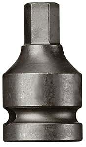 """CAROLUS 5435.17 Schlagschraubereinsatz 1/2"""" Innen-6kt 17 mm, 1 Stück"""