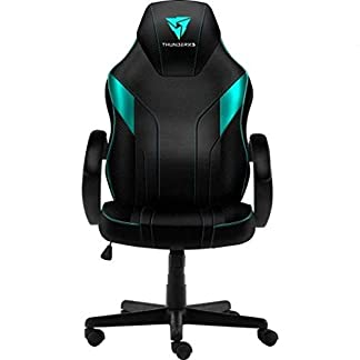 ThunderX3 EC1 – Silla gaming, tecnología AIR, altura regulable, color cian