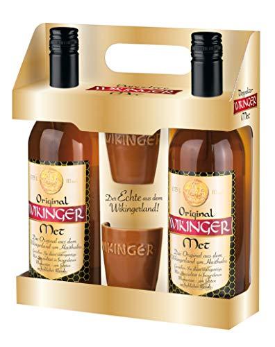 Original Wikinger Met Geschenkpackung (2 x 0.75 l) - Der Honigwein / Honigmet aus Haithabu