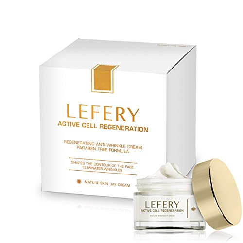 Lefery Active Cell Regeneration Day and Night Cream Anti Wrinkles Anti Ageing Effect, UK Seller, Genuine Product! (1x Day cream) by Lefery