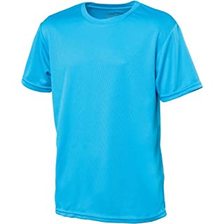 AWD Just Cool Kids Breathable Cool T-Shirt Sapphire Blue 12/13 Years