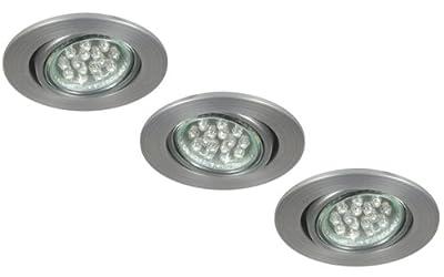 XQ-lite LED Einbauspot, 3-er Set XQ0804 von Ranex GmbH auf Lampenhans.de