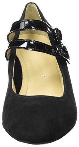 Ara Padua, Chaussures À Sangle Femme Noir (noir)