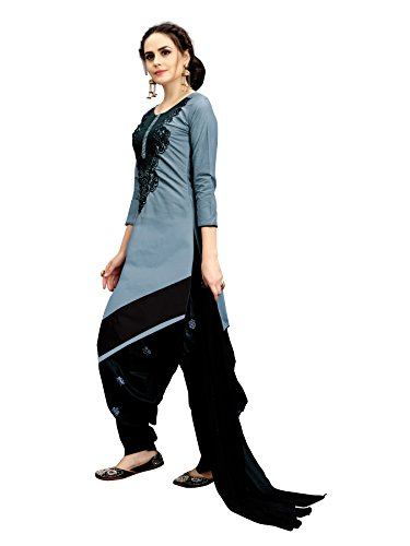Sretan Women\'s Party Wear Low Price New Arrival Latest Design Pure Cotton Patiala Semi Stitched Salwar Suits Dress Material /Salwar Kameez below 500
