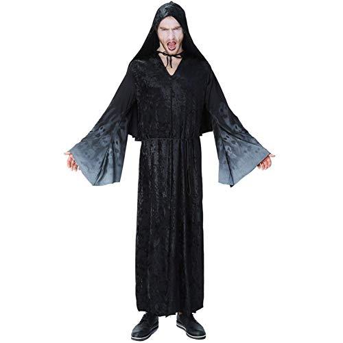 feiledi Trade Modische Wizards Kleidung Black Night Ghosts Stil Kleidung Halloween Ghosts Cosplay Kostüme